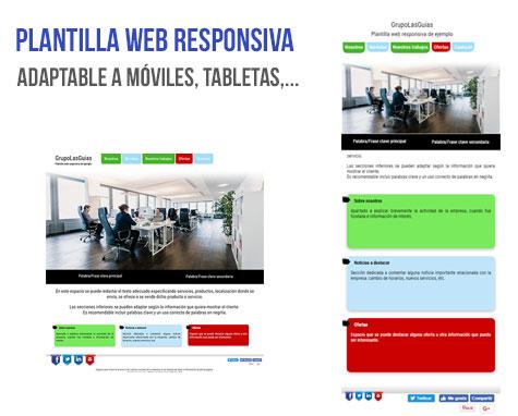 Plantilla web responsiva